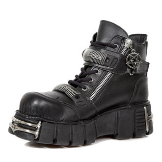 leather boots men's - VEGAN NEGRO VEGAN, VEGAN NEGRO - NEW ROCK