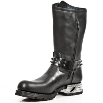 leather boots women's - ITALI ANTIK MOTOROCK T.ACERO - NEW ROCK, NEW ROCK