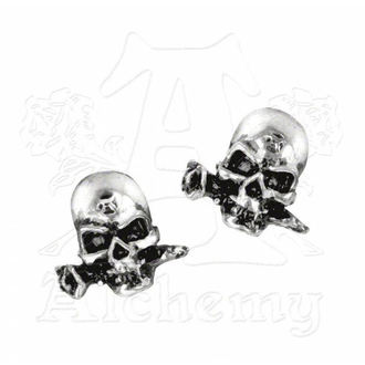 earrings Alchemist studs E147 - Alchemy Gothic