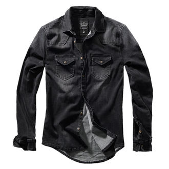 Men's shirt BRANDIT - Riley - Denims - 4020-schwarz