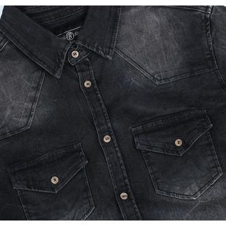 Men's shirt BRANDIT - Riley - Denims - 4020-schwarz