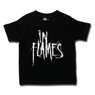 t-shirt metal men's In Flames - Logo - Metal-Kids - 406-25-8-7
