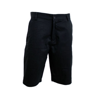 shorts men FOX - Essex - BLACK PINSTRIPE