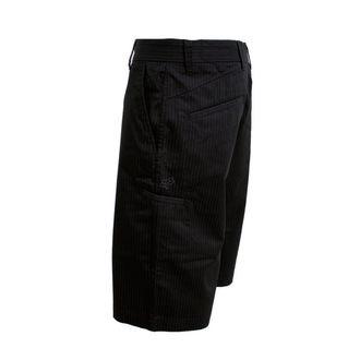 shorts men FOX - Essex - BLACK PINSTRIPE