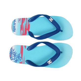 flip-flops women's - Ponto - DC - DAZZLING BLUE PRINT
