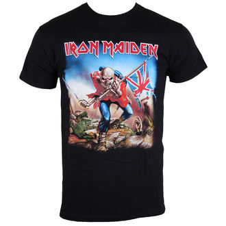 t-shirt metal men's Iron Maiden - The Trooper - ROCK OFF - IMTEE03MB