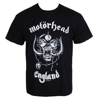 t-shirt metal men's Motörhead - England - ROCK OFF - MHEADTEE01MB