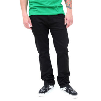 pants men (jeans) VANS - Skinny Overdye PP - BLACK