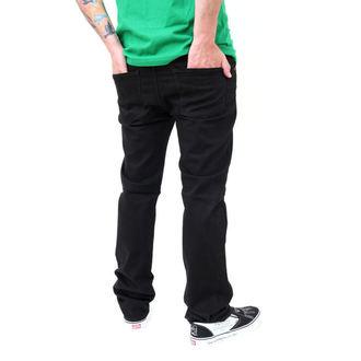 pants men (jeans) VANS - Skinny Overdye PP - BLACK