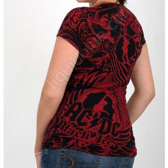 t-shirt women AC/DC 'Girls Got Rhythm' LIQUID BLUE, LIQUID BLUE, AC-DC