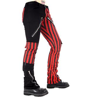 pants men Black Pistol - Freak Pants Stripe (Black / Red) - B-1-21-319-04