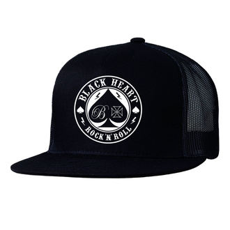 cap BLACK HEART - ACE OF SPADES - BLACK, BLACK HEART