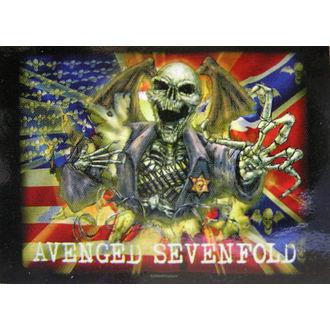 flag Avenged Sevenfold - Confederate, HEART ROCK, Avenged Sevenfold