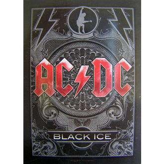 flag AC-DC 'Black Ice' HFL 0979, HEART ROCK, AC-DC