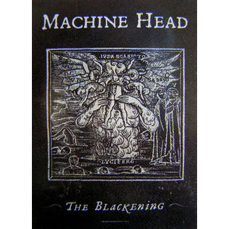 flag Machine Head 'The Blackening', HEART ROCK, Machine Head