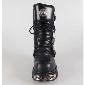 boots leather - Metal Boots (391-S1) Black - NEW ROCK, NEW ROCK