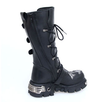 boots leather - Cross Boots (403-S1) Black - NEW ROCK, NEW ROCK