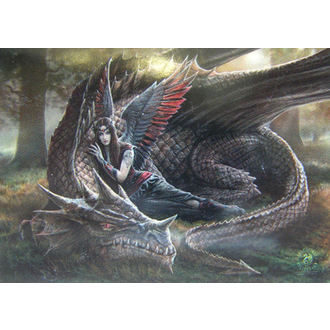flag Anne Stokes - Winged Companions - HFL0993