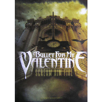 flag Bullet For My Valentine - Scream Aim Fire, HEART ROCK, Bullet For my Valentine