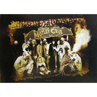 flag Mötley Crue - Festival Circus, HEART ROCK, Mötley Crüe