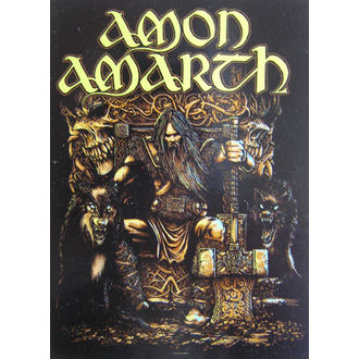 flag Amon Amarth HFL 1027, HEART ROCK, Amon Amarth