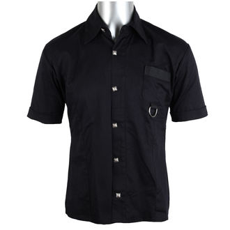 shirt men Aderlass - Ring Shirt Denim Black, ADERLASS