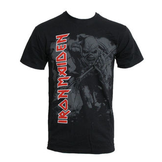 Metal T-Shirt men's Iron Maiden - Hi Contrast Trooper - ROCK OFF - IMTEE04MB