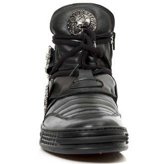 leather boots women's - NEGRO PISA - NEW ROCK, NEW ROCK