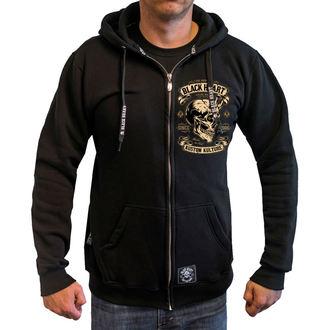 hoodie men's - DEVIL SKULL - BLACK HEART - 003-0054-BLK