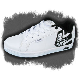 low sneakers men's - METAL MULISHA - WHITE/BLACK