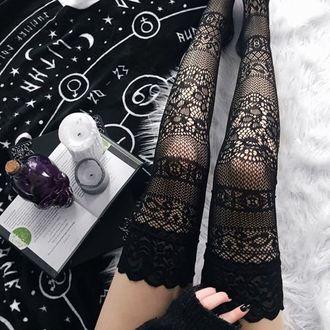 Hold-up stockings KILLSTAR - Simona, KILLSTAR