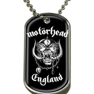 collar 'dog tag' Motörhead 'England', RAZAMATAZ, Motörhead