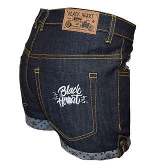 Shorts Women BLACK HEART - MARK BLUE