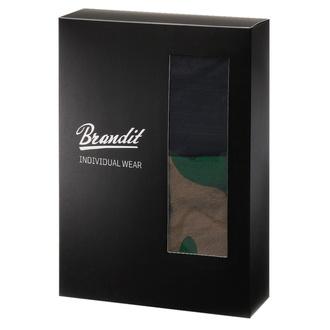 Men's boxer shorts (set 2 pieces) BRANDIT - 4501-woodland+black