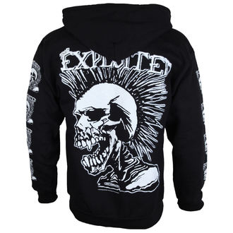 hoodie men The Exploited 'Mohican Skull', RAZAMATAZ, Exploited