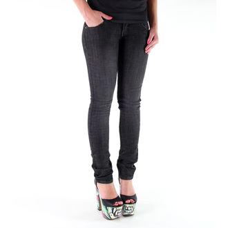 pants women (jeans) METAL MULISHA - Babe Skinny - BLACK