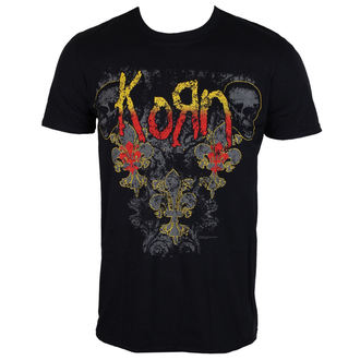 t-shirt metal men's Korn - Skull de lis - ROCK OFF, ROCK OFF, Korn
