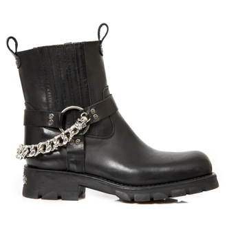 leather boots women's - MOTORCYCLE NEGRO - NEW ROCK, NEW ROCK