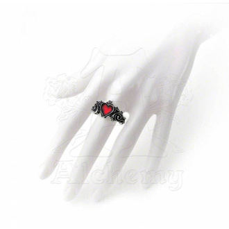 ring Betrothal ALCHEMY GOTHIC - R134