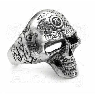 ring Omega Skull ALCHEMY GOTHIC - R122