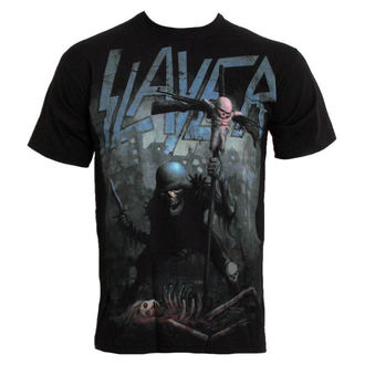 t-shirt metal men's Slayer - Soldier Cross - ROCK OFF - SLAYTEE07MB