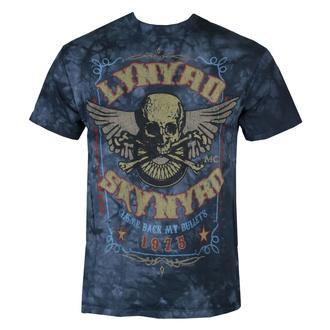 Metal T-Shirt men's Lynyrd Skynyrd - Gimme Back My Bullets - LIQUID BLUE - 11911