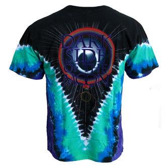 t-shirt men Pink Floyd 'Dark Side VDYE' LIQUID BLUE, LIQUID BLUE, Pink Floyd