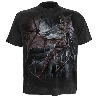 t-shirt men's - Dragon Kingdom - SPIRAL - L006M101
