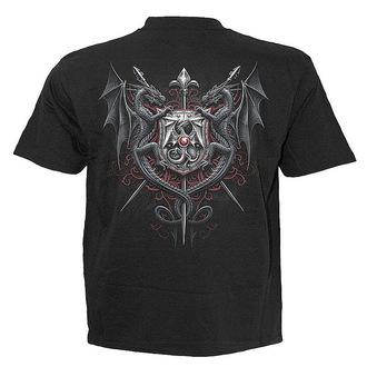 t-shirt men's - Dragon Kingdom - SPIRAL - L006M101