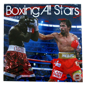 calendar wall Boxing All Stars 2011 , NNM
