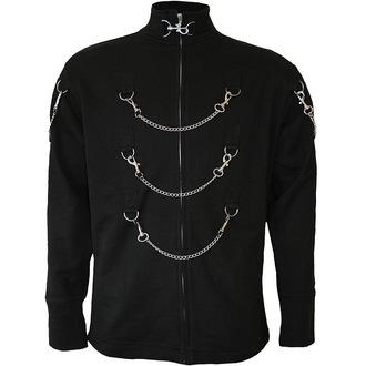 sweatshirt (no hood) men's - Black - SPIRAL - T026M653