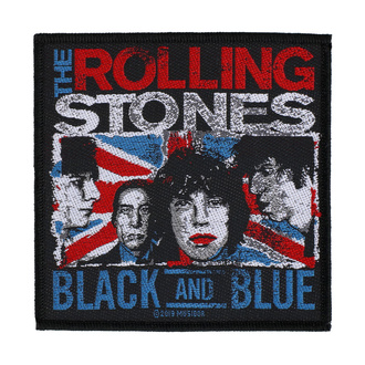 Patch The Rolling Stones - Black And Blue - RAZAMATAZ - SPR3037