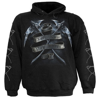 hoodie men's - Live Now Pay Later - SPIRAL - T034M451