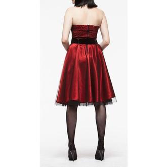 dress women HELL BUNNY 'Songstree Dress (RED/BLACK), HELL BUNNY